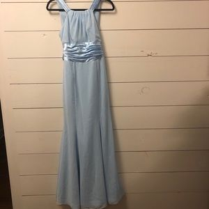 David's Bridal Bridesmaids Dress - Ice Blue